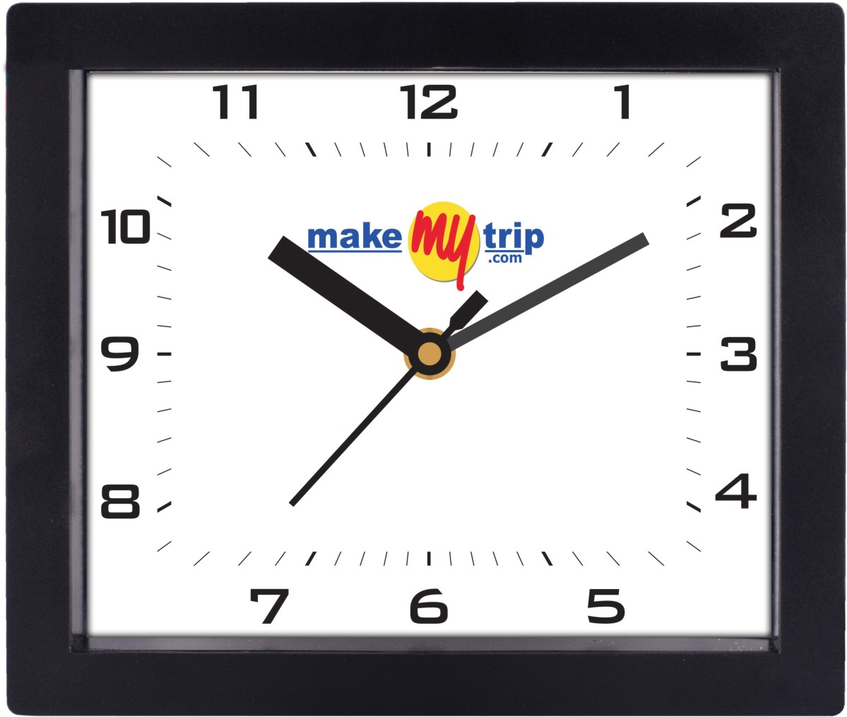 Make My Trip Wall Clock