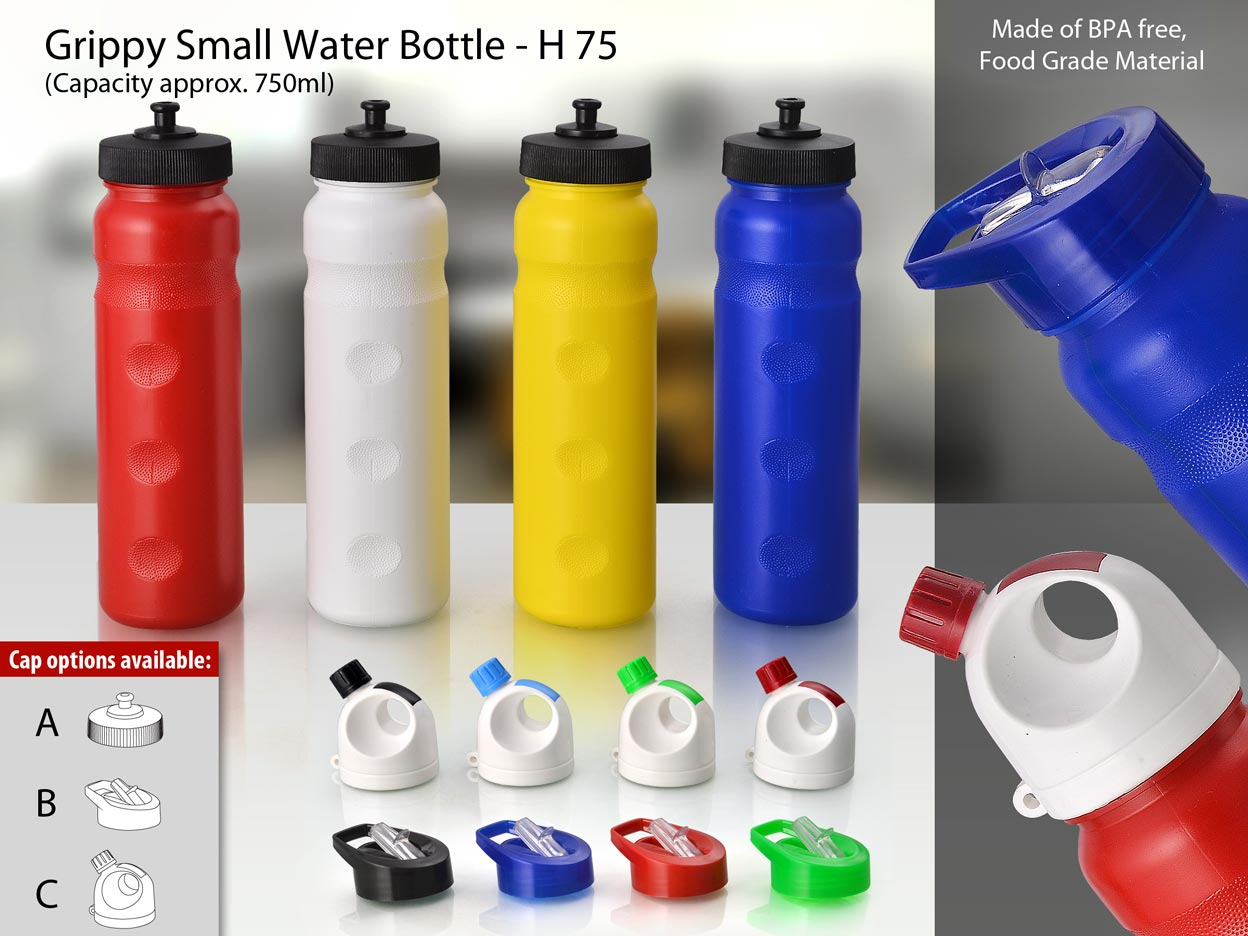 Power Plus Grippy Small Water Bottle ( Capacity approx. 750ml)
