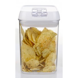 CRYSTAL AIR-TIGHT CONTAINER WITH EASY LOCK LID 800 ML
