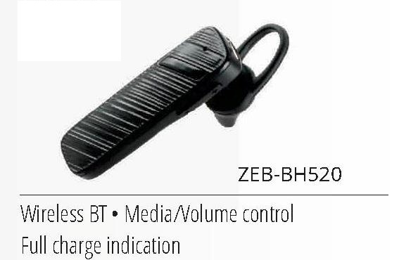 ZEBRONICS BLUETOOTH EARPHONE BH520