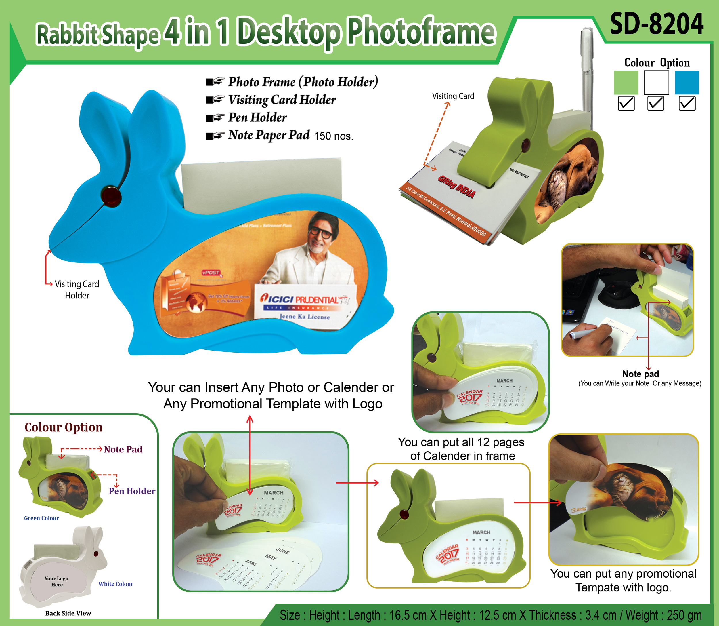 Rabbit Shape Photo frame-SD-8204