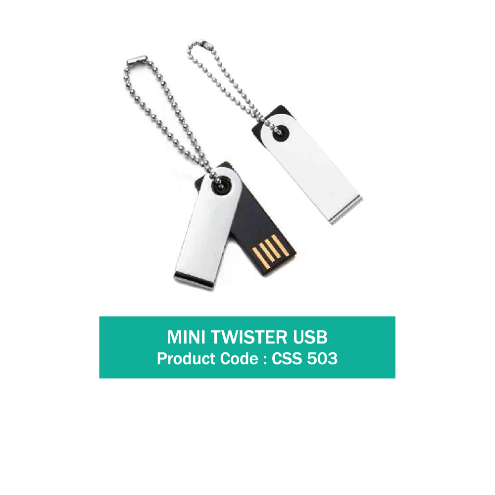 Mini Twister USB Pendrive 4 GB